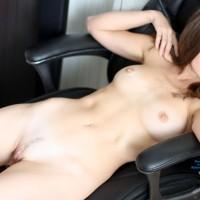 Nicole @ Home - Big Tits, Brunette Hair, Hard Nipple , ... At Home :)