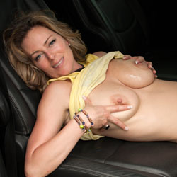 Squeezing Big Tits In The Car - Big Tits, Blonde Hair, Erect Nipples, Firm Tits, Huge Tits, No Panties, Nude In Car, Shaved Pussy, Showing Tits, Hairless Pussy, Hot Girl, Naked Girl, Pussy Flash, Sexy Body, Sexy Boobs, Sexy Face, Sexy Figure, Sexy Legs, Sexy Woman, Wife/wives , Blonde Girl, Nude In The Car, Big Tits, Legs, Hairless Pussy