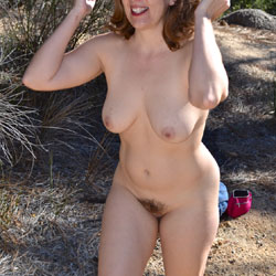 Outdoor Fun - Big Tits, Hairy Bush, Beach Voyeur , Horny Wife, Sexy Babe,, Huge Titties, Big Ass