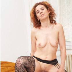 Lena's First RC Photo - Big Tits, Heels, Redhead, Sexy Lingerie, Penetration Or Hardcore , Sucking Dick, Fucking, Hardcore Sex, Riding Cock, Anal Sex