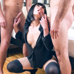 Bree O'Claire - Threesome Pleasures - Brunette Hair, Blowjob, Penetration Or Hardcore, Pussy Fucking , Horny Brunette, Group Sex, Orgies, Sucking Dick, Cock Sucker, Fucking, Getting Fucked Hard