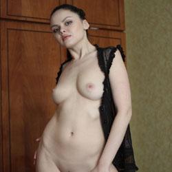 Adriana - Big Tits, Brunette Hair, Shaved, Sexy Lingerie , Model, Russian, Slut, Nude Model