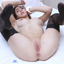 Fuck Me Handcuffed - Big Tits, Brunette Hair, Shaved , Nude, Teen Model, Sexy, Babes, Handcuffed