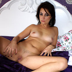 Naked Anna On Her Bed - Bed, Brunette Hair, Close Up, Erect Nipples, Full Nude, Nipples, Pussy Lips, Shaved Pussy, Spread Legs, Sexy Legs , Close Ups, Pussy Shots, Naked, Bed, Nipples