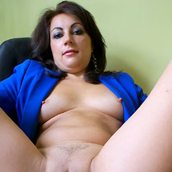 Anna Close Up Pussy - Big Tits, Brunette Hair, Chair, Close Up, Erect Nipples, Leg Up, Pussy Lips, Sexy Legs , Anna, Nude, Pussy, Nipples,leg Up