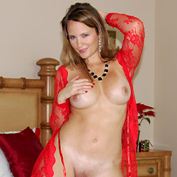 Pic #1Sexy Christmas  - See Through, Big Tits, Shaved