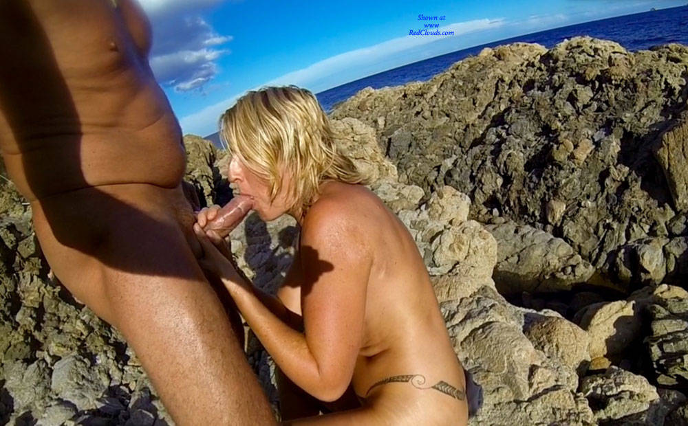 Pic #1Sex On The Rocks - Blowjob, Outdoors, Penetration Or Hardcore, Pussy Fucking