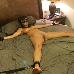 Bondage Fun - Nude Amateurs, Big Tits, Brunette, Shaved, Toys