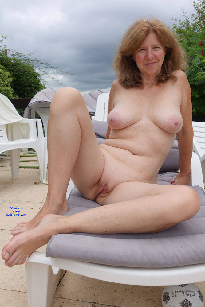 Pic #1GILF Showing It All - Nude Amateurs, Big Tits, Outdoors, Shaved