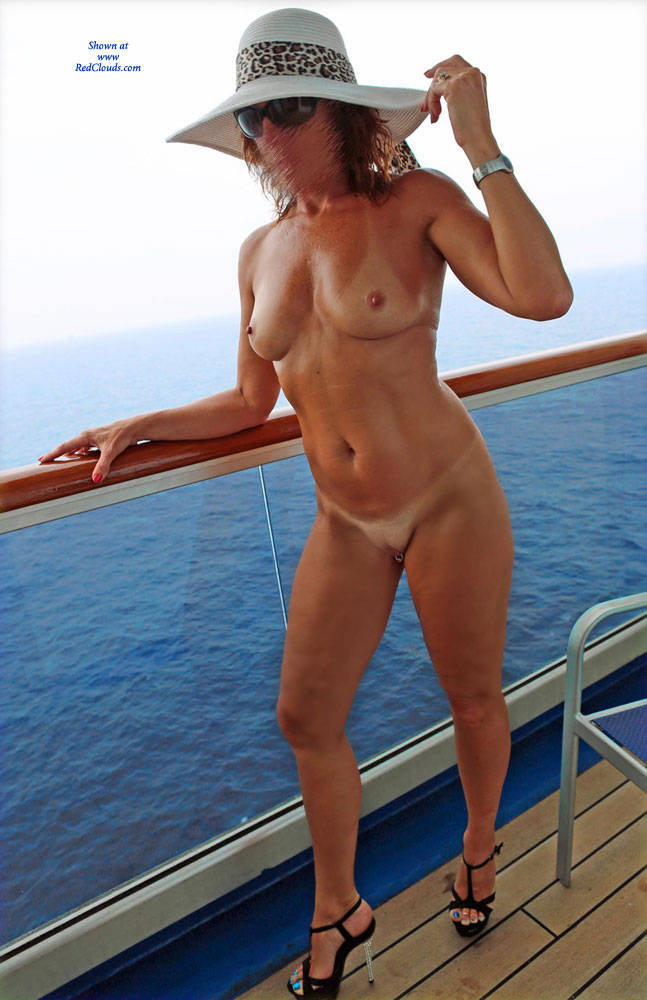 Cruise ship topless balcony