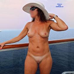 Nude On The Cruise Ship Balcony