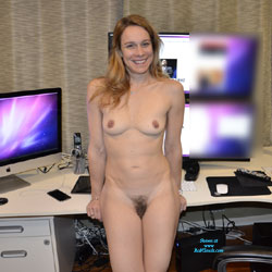 Naked Blonde In Her Workspace - Blonde Hair, Firm Tits, Full Nude, Hairy Bush, Hairy Pussy, Hard Nipple, Nipples, Naked Girl, Sexy Body, Sexy Face, Sexy Figure, Sexy Girl, Sexy Legs, Amateur , Blonde, Natural Tits, Hairy Pussy, Sexy Legs, Naked