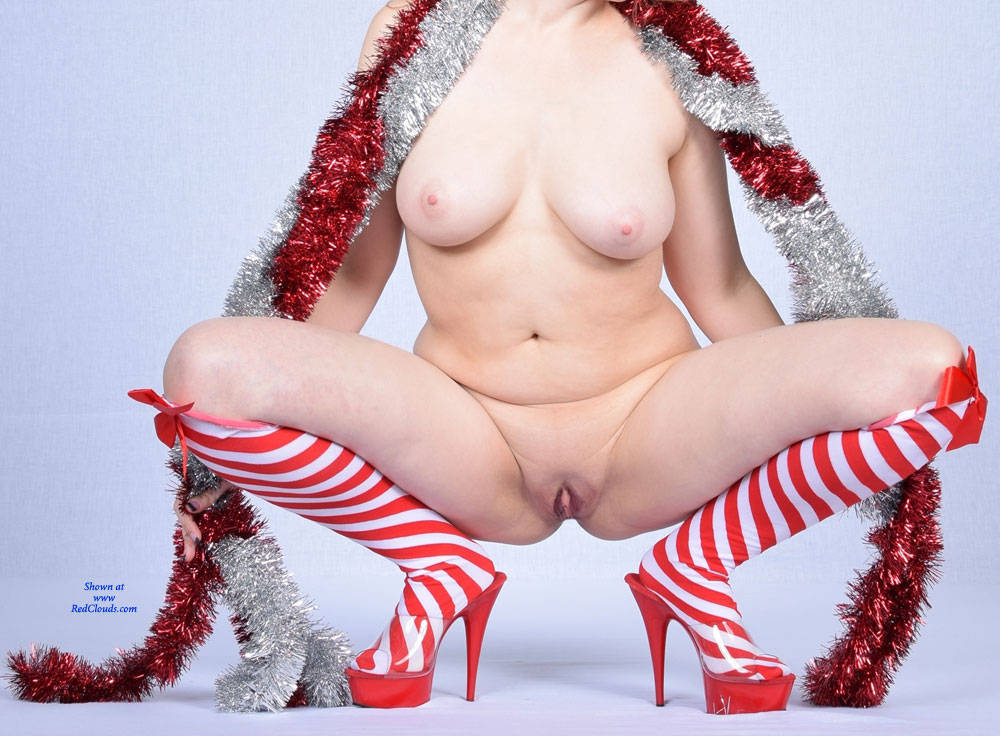 Pic #1Candy Cane And Tinsel Set 2 - Nude Wives, Big Tits, High Heels Amateurs, Shaved