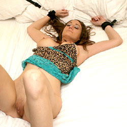 Extra Restrained Fun - Big Tits, Brunette, Toys, Shaved