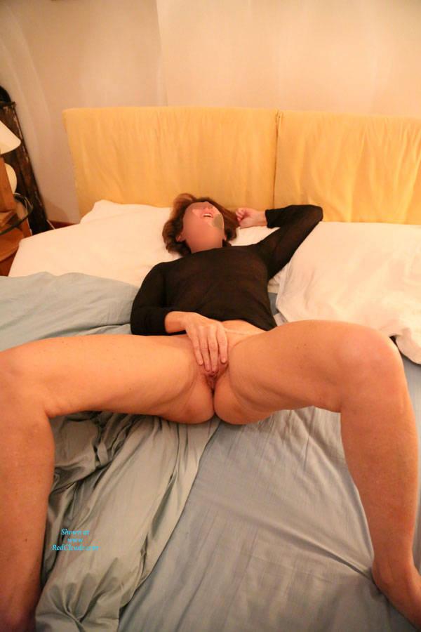 Pic #1Great Moments Of Masturbation - Pantieless Wives, Masturbation, Amateur