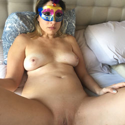 Fucking With A Mask - Nude Wives, Big Tits, Penetration Or Hardcore, Shaved, Pussy Fucking, Amateur