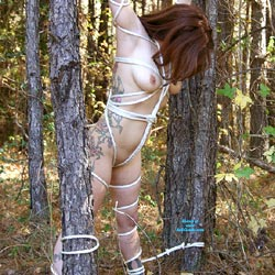 In The Trees - Big Tits, Outdoors, Redhead, Amateur, Tattoos, Nude Girls
