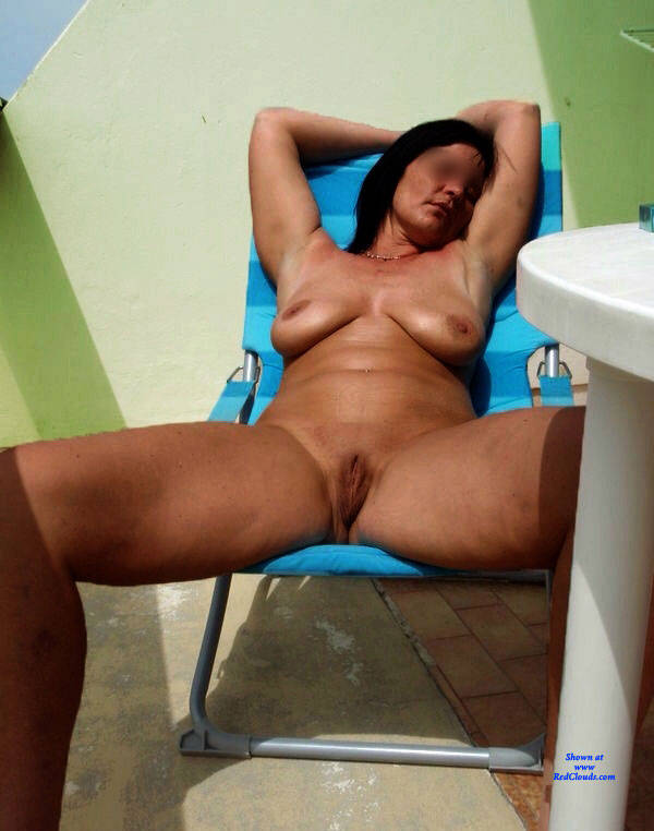 Pic #1Silvia And Friends In Pool - Nude Amateurs, Big Tits, Outdoors