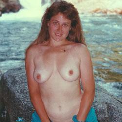 Riverside - Big Tits, Brunette, Outdoors, Amateur