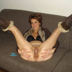 Dutch Melissa On The Couch 2 - Pantieless Girls, Mature, Shaved, Amateur, Legs Spread Wide Open