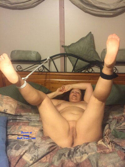 Pic #1Love To Show Off My Sweet Pussy - Nude Wives, Big Tits, Brunette, Mature, Shaved, Amateur, Legs Spread Wide Open