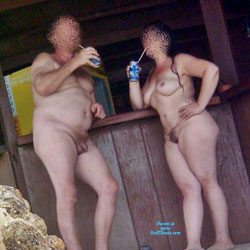 MILF And Husband - Nude Girls, Outdoors