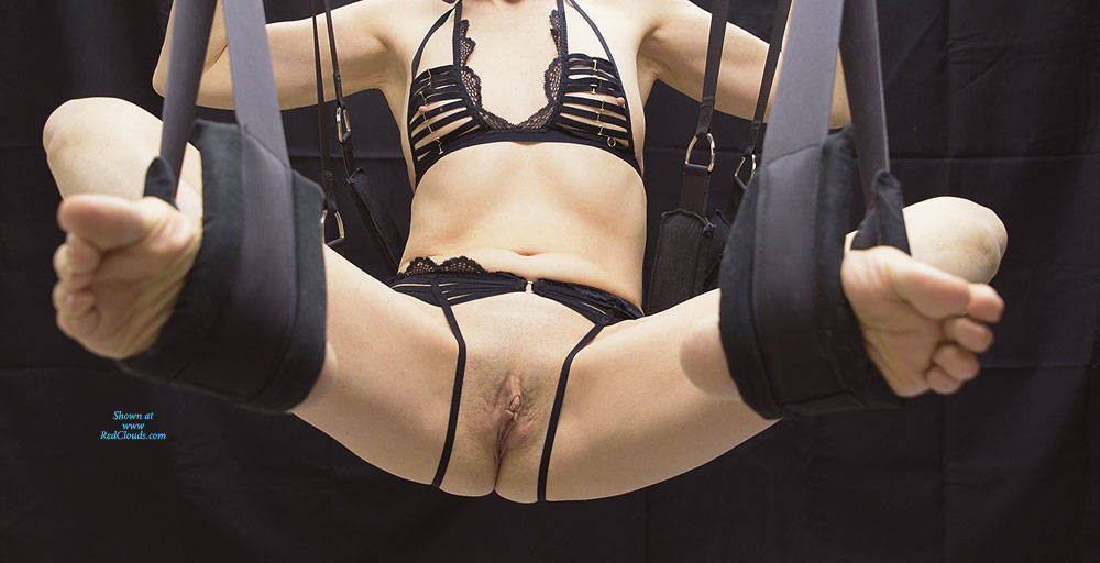 Pic #1The Swing - Part 1 - Lingerie, Shaved, Amateur
