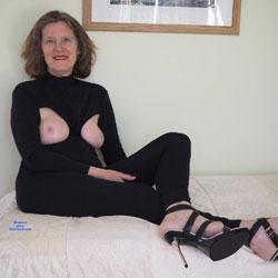 Playsuit - With Zips - Big Tits, Brunette, High Heels Amateurs, Mature