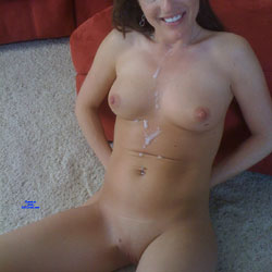 My First Contribution Here!  Cum On My Tits! - Nude Girls, Big Tits, Cumshot, Mature, Shaved, Amateur