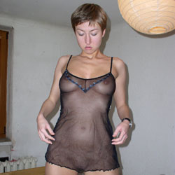 At Home - Big Tits, Lingerie, Shaved, Amateur
