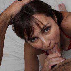Webslut Luana Blowjob And Facial Cumshot
