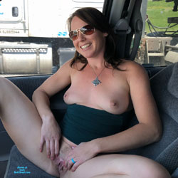 Road Trip With The Boys - Nude Girls, Brunette, Toys, Amateur