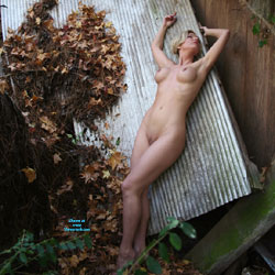 Old Barn And Sun - Nude Amateurs, Big Tits, Blonde, Mature, Outdoors, Shaved